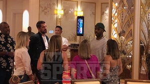Chris Paul Escapes Rockets Drama In Bahamas, Runs Into Aaron Rodgers!