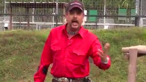 'Tiger King' Star Joe Exotic Pissed He Can't Say N-Word in Lost Footage