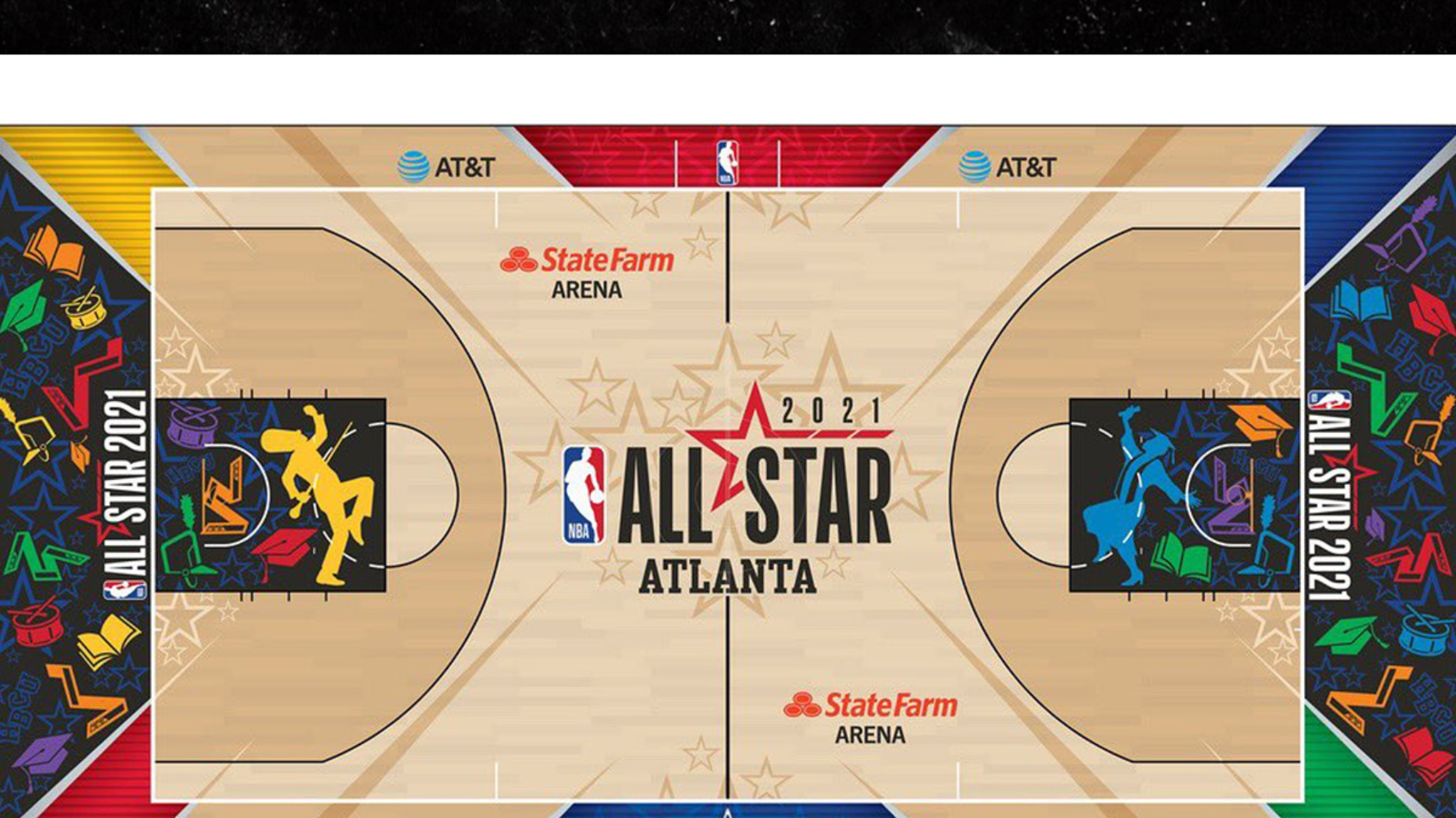 The 2021 NBA All-Star Game will feature a special court designed to honor historically black colleges and universities ... and the first images look amazing! NBA officials previously announced the March 7th event at State Farm Arena in…  Permalink