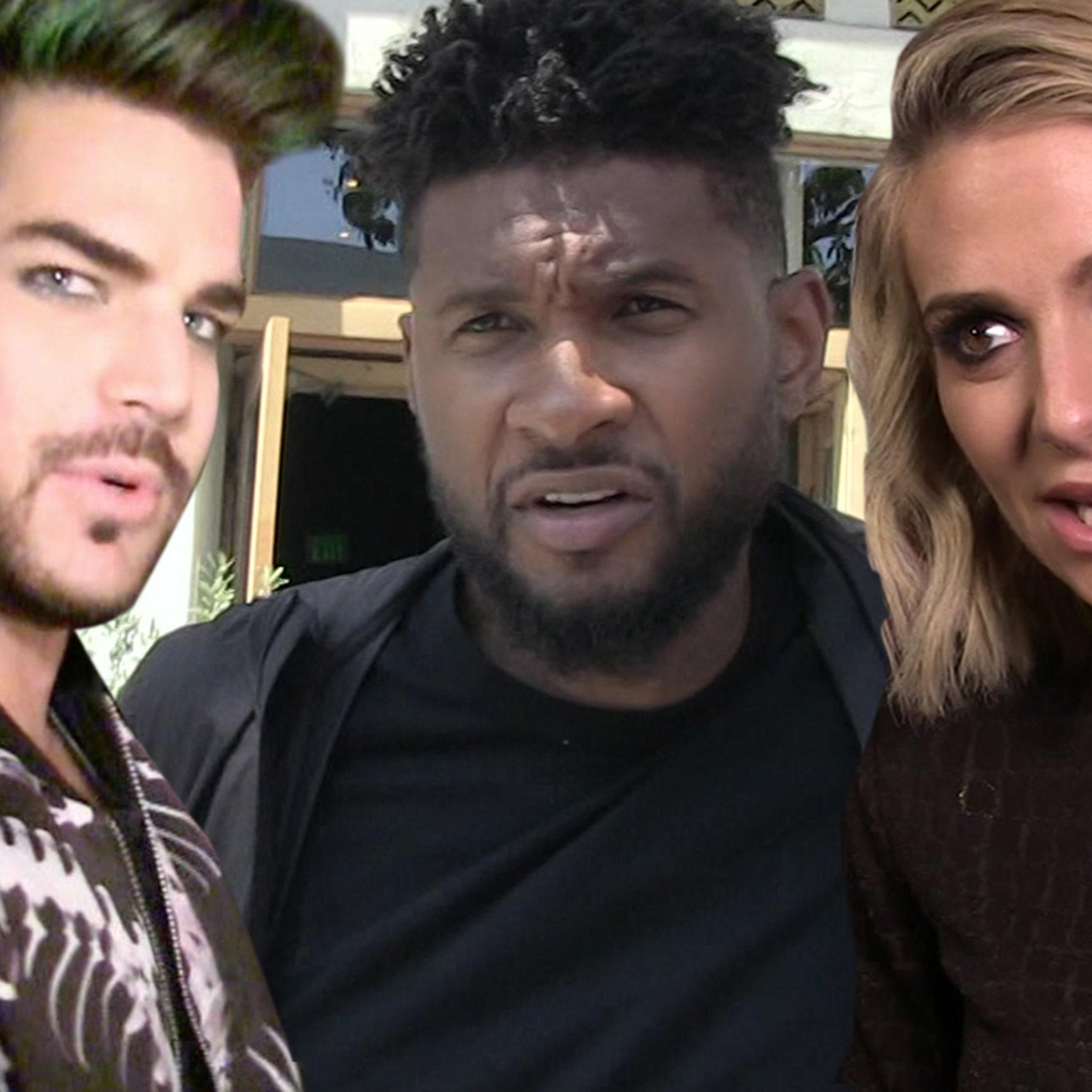 Adam Lambert, Usher Victims of Open House Burglaries