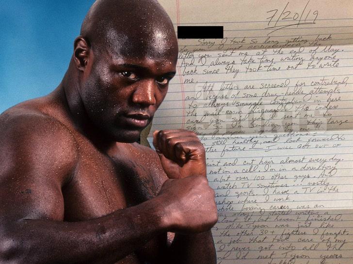 Boxer Clifford Etienne Lands Prison Barber Gig During 105