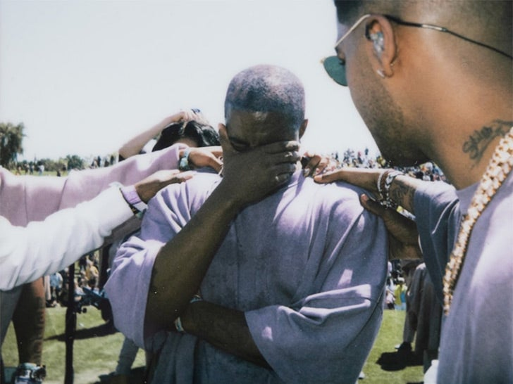 Inside Kanye West's Easter Sunday Service at Coachella