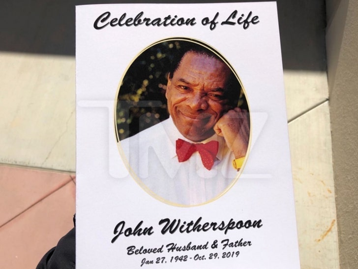 John Witherspoon's Celebration of Life