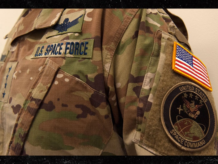 Space Force Offers First Peek at Camouflage Uniform
