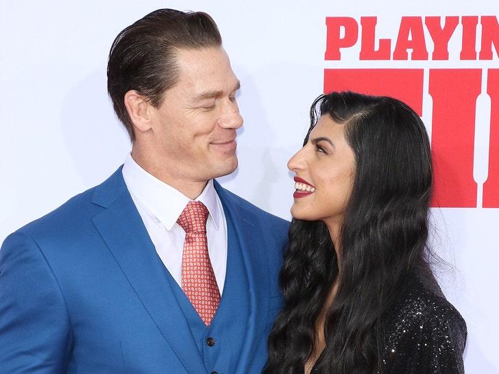 John Cena and Shay Shariatzadeh Together