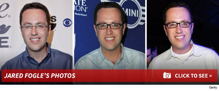 Jared Fogle -- Through the Years