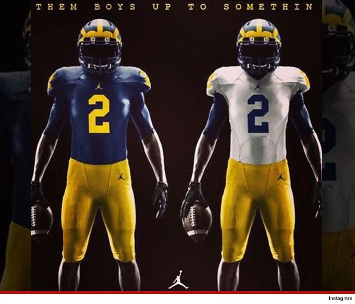 release date 1c298 31086 Michigan Wolverines -- Puts Michael Jordan ... On Football ...