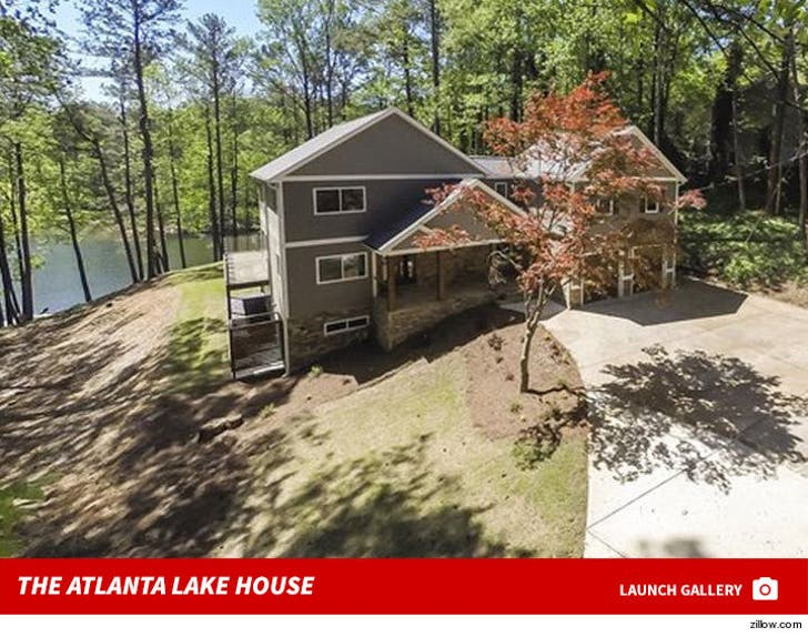 Cynthia Bailey's New Atlanta Lake House