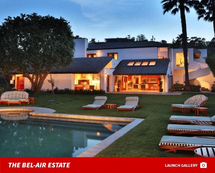 David Sackler's Bel-Air Estate