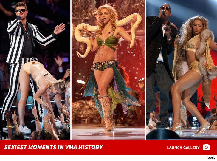 Sexiest Moments in VMA History