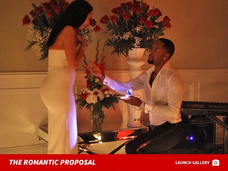 Safaree Samuels Romantic Proposal