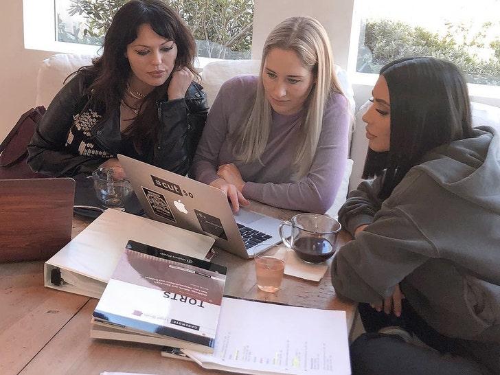 Kim Kardashian Studying Hard For Bar Exam Responds To Haters