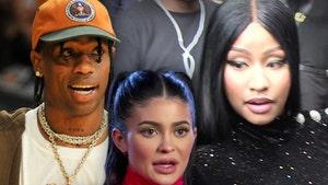 Travis Scott Moves Seats Away From Nicki Minaj At VMAs (DO NOT PUBLISH)