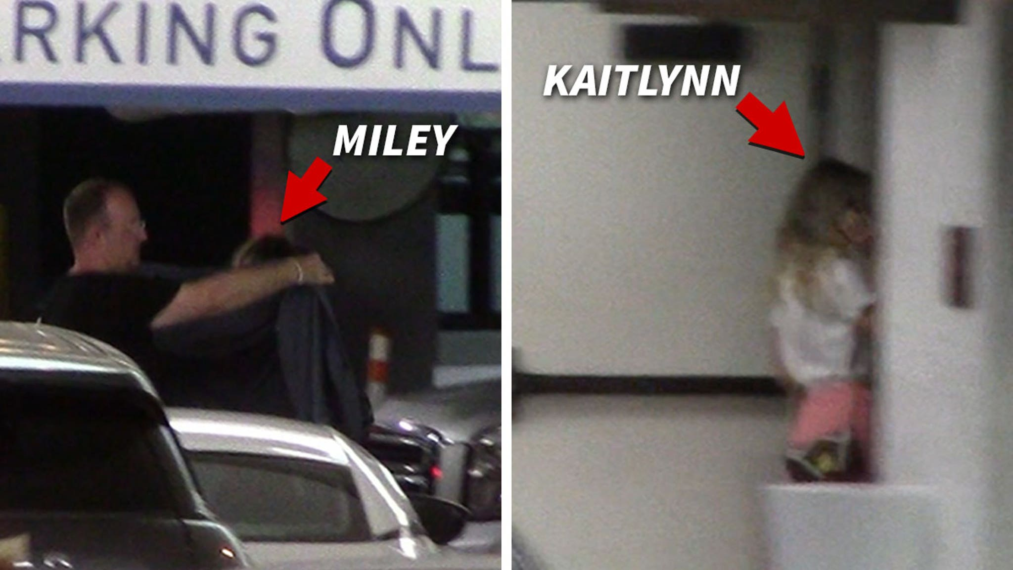 Miley Cyrus & Kaitlynn Carter Crash West Hollywood with Mom, Tish