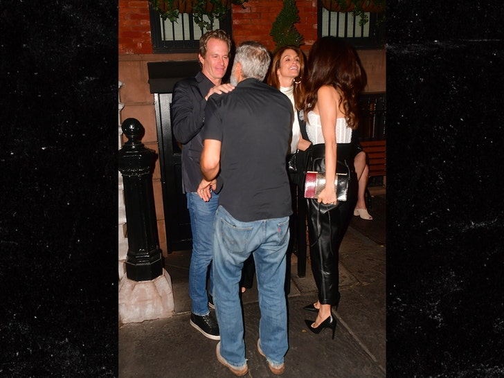 George and Amal out to dinner with Cindy and Rande 412e8c4960684170be4d82e27c2e9614_md