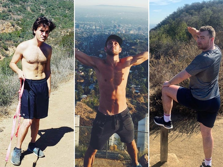 Hiking Hunks