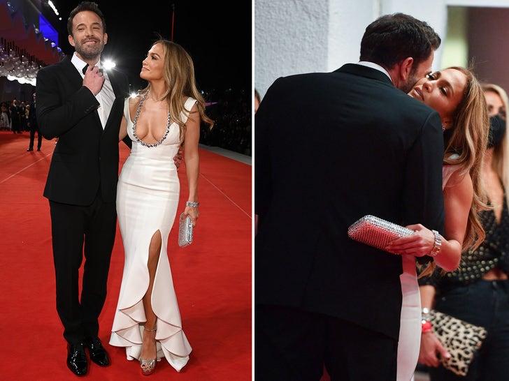 Ben Affleck and Jennifer Lopez Make Red Carpet Debut at Venice Film Festival
