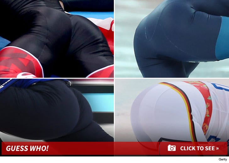 Winter Olympics -- THE GREAT ASS GAME ... Male or Female?!