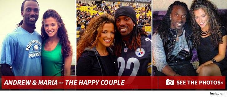Andrew McCutchen & Maria Hanslovan -- The Happy Couple