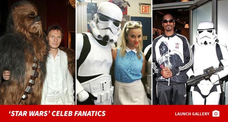 Celebrity Star Wars Fanatics!