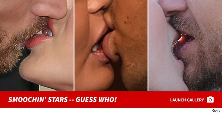 Smoochin' Stars -- Guess Who!