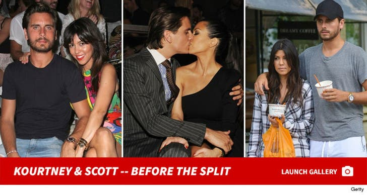 Kourtney Kardashian & Scott Disick -- Before the Split