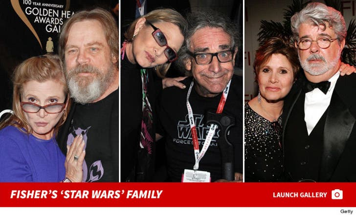 Carrie Fisher's 'Star Wars' Family