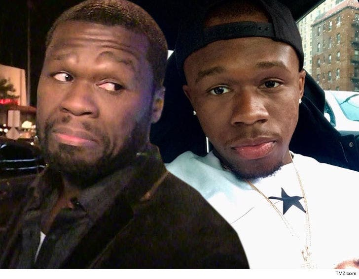 50 Cent Says He Wouldn't Mind if His Son Marquise Got Hit by