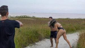 MMA Fighter Joyce Vieira Punches Alleged Masturbator During Sexy Photo Shoot