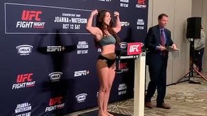 UFC's Mackenzie Dern Makes Weight, Set to Fight 4 Months After Giving Birth