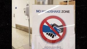 LAX Says No More Handshakes In Wake of Coronavirus