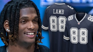 CeeDee Lamb Gets Jersey #88 In Dallas, Dez Supports It!