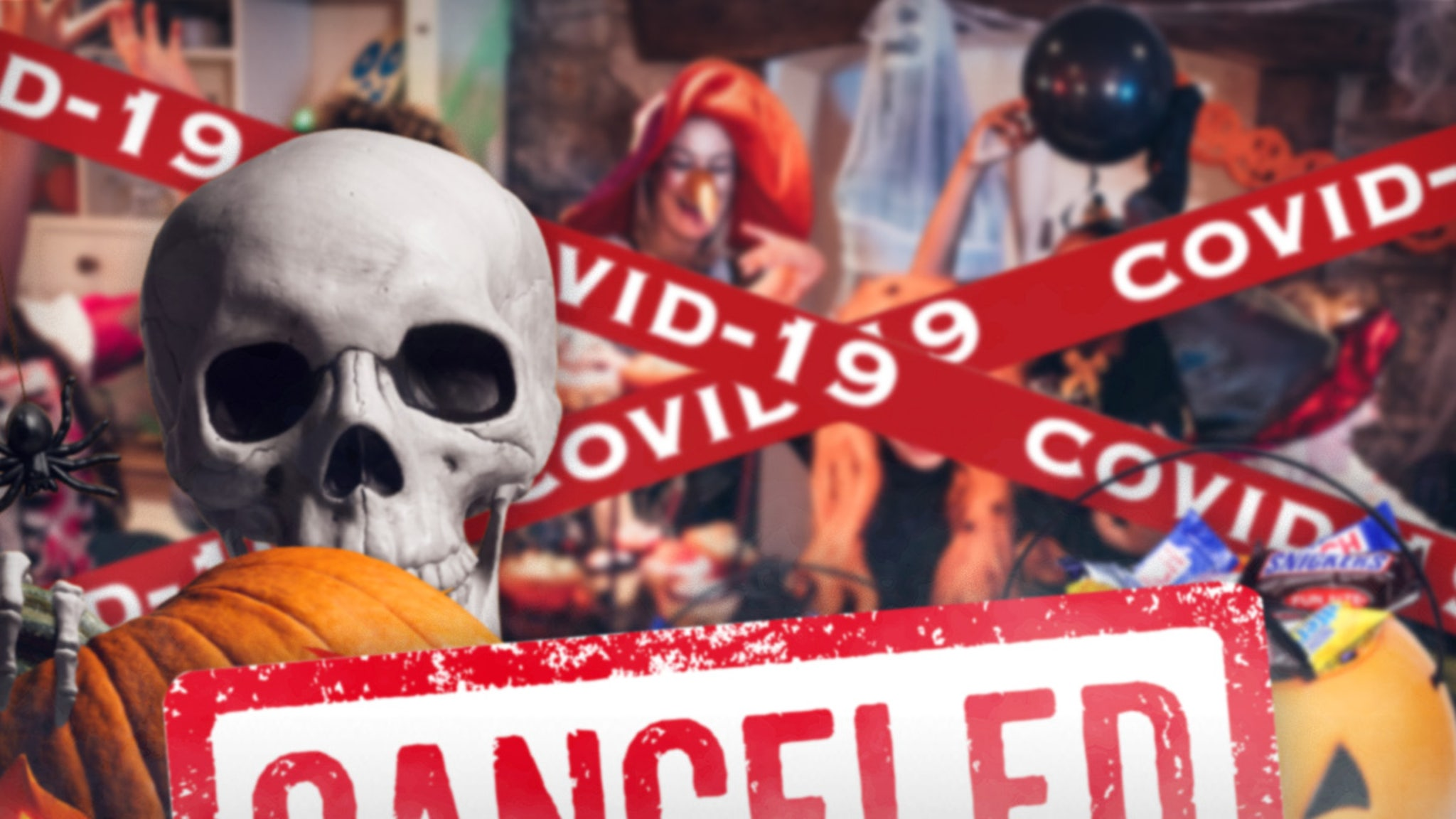 Halloween Looking Real COVID-Canceled with Candy, Costume Sales Down