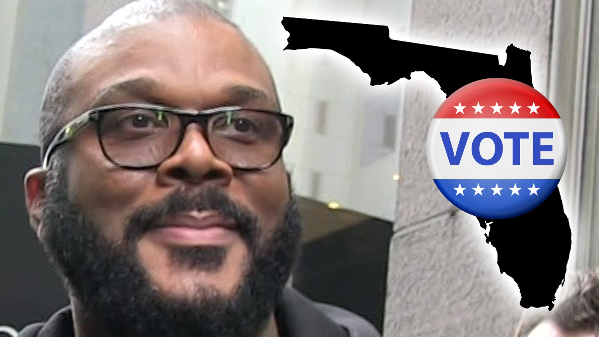 Tyler Perry Let's Rock the Vote in Florida ... $500k Campaign to Mobilize Black Voters