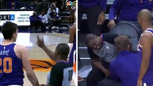 NBA Ref Leroy Richardson Gets Hit In Nuts, Tweaks Ankle In Very Unlucky Game