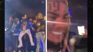 Tekashi Concert Ends After 69 Jumps in Crowd and Fans Grab Necklace