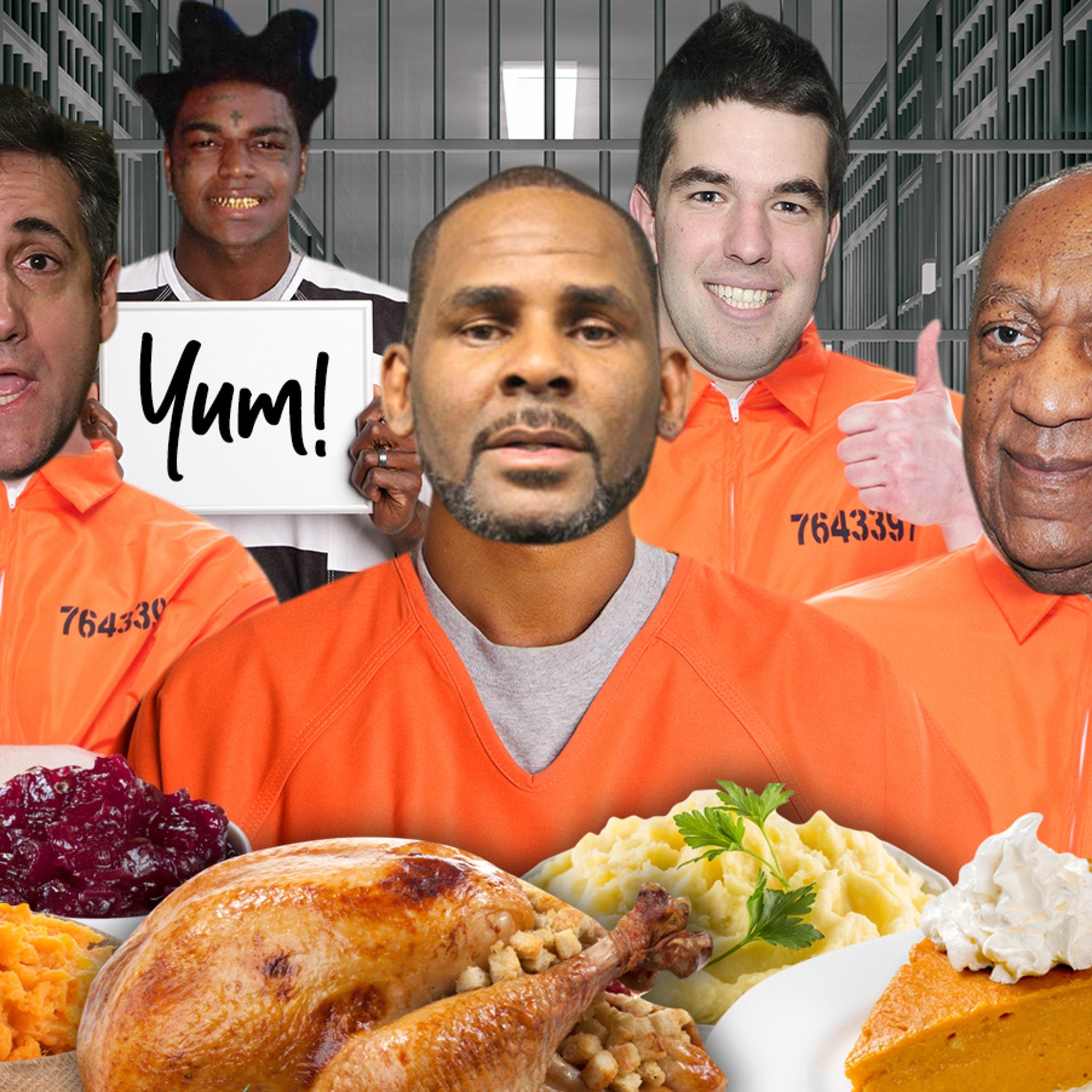 Celeb Prisoners' Thanksgiving Meals Revealed