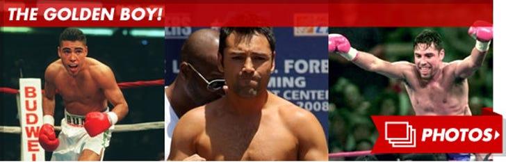 Oscar De La Hoya's Fight Photos