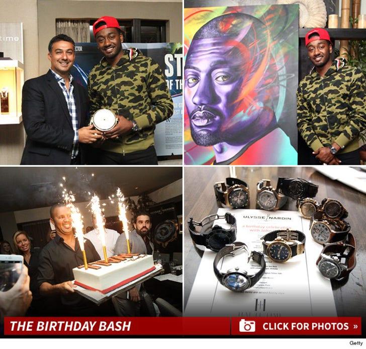 John Wall's Birthday Party Pics