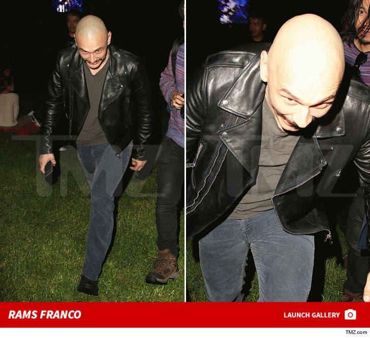 James Franco -- The Headbutt