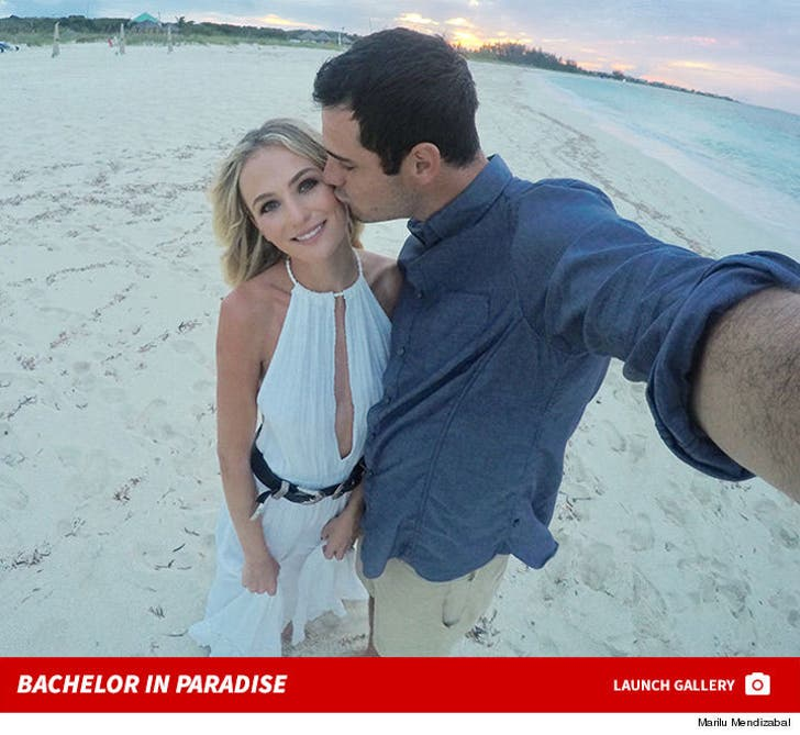 'Bachelor' Couple Ben & Lauren B. -- Much Needed One-On-One in Paradise