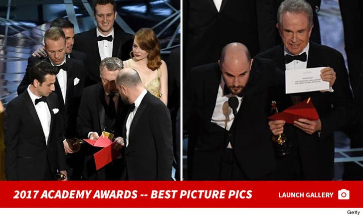 2017 Academy Awards -- Best Picture Goes To ...