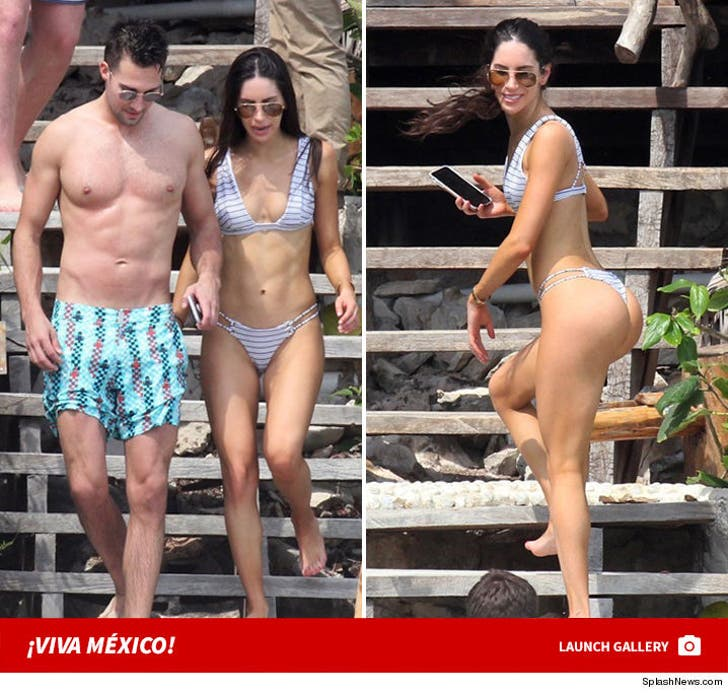 Jen Selter and James Maslow -- Viva Mexico!