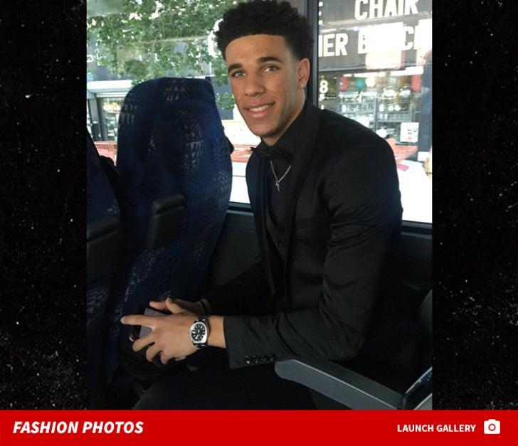 2017 NBA Draft -- Fashion Photos