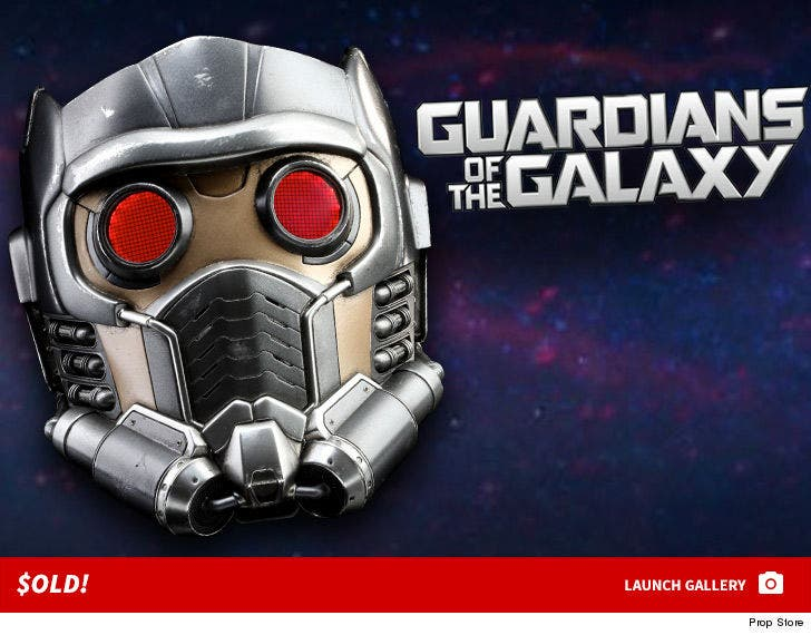 Chris Pratt's 'Guardians of the Galaxy' Helmet -- $old for $160k