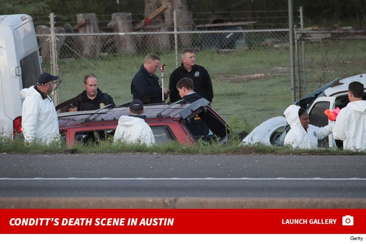 Mark Conditt's Death Scene in Austin