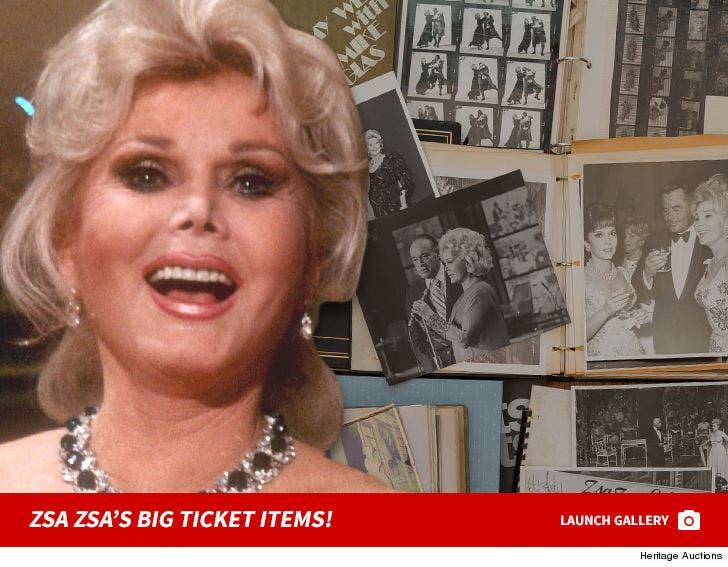 Zsa Zsa's Big Ticket Item Pics