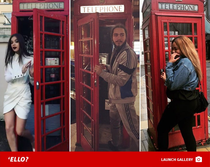 Stars in British Booths -- London's Calling!