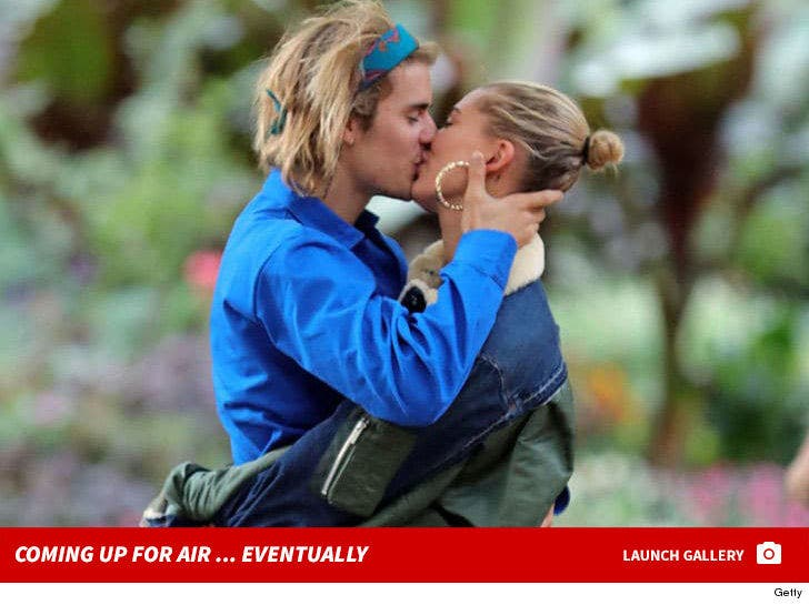 Justin Bieber and Hailey Baldwin -- Crazy in Love