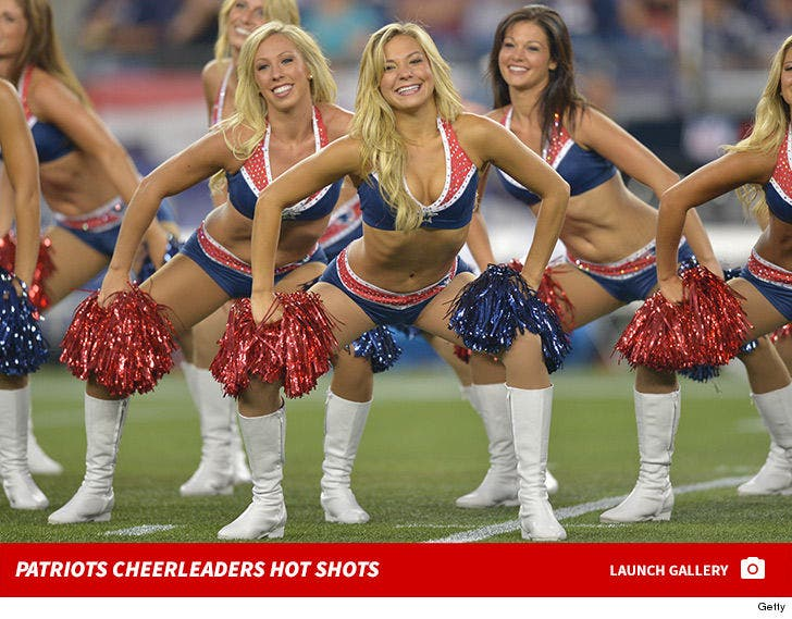 Patriots Cheerleaders Hot Shots